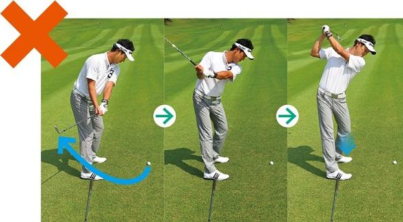 ゴルフ スイング 右 肘 窮屈なゴルフスイングが一変する右肘の向きを意識した形